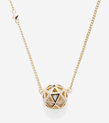Tali Pearl Geometric Pendant Necklace