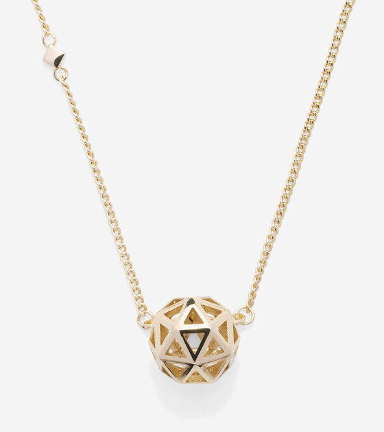 Bags & Outerwear > Tali Pearl Geometric Pendant Necklace