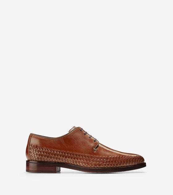 Oxfords & Monks > Washington Grand Woven Plain Toe Oxford