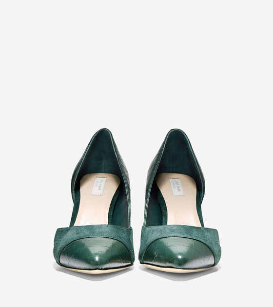 Highline Cut Out Pump (75mm) - Pointy Toe