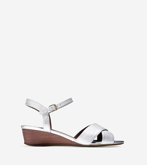 Shoes > Elsie Criss Cross Sandal (40mm)