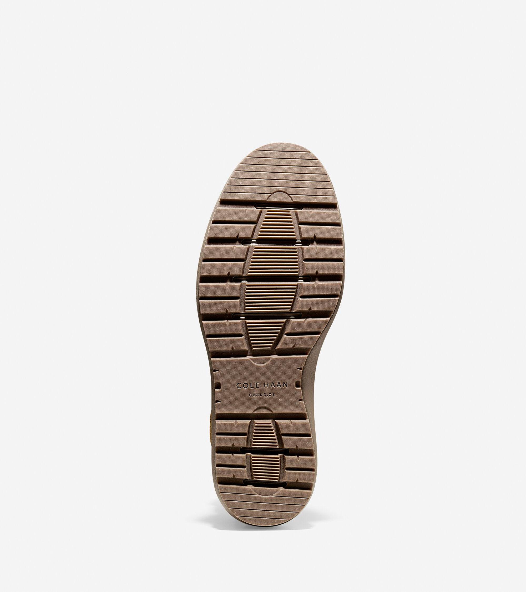 Lockridge Waterproof Moc Toe Boots In Brown Cole Haan