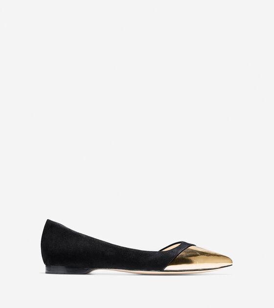 Shoes > Amalia Cap Toe Skimmer