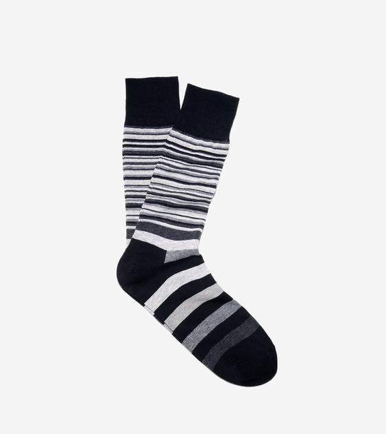 Socks > Town Striped Crew Socks