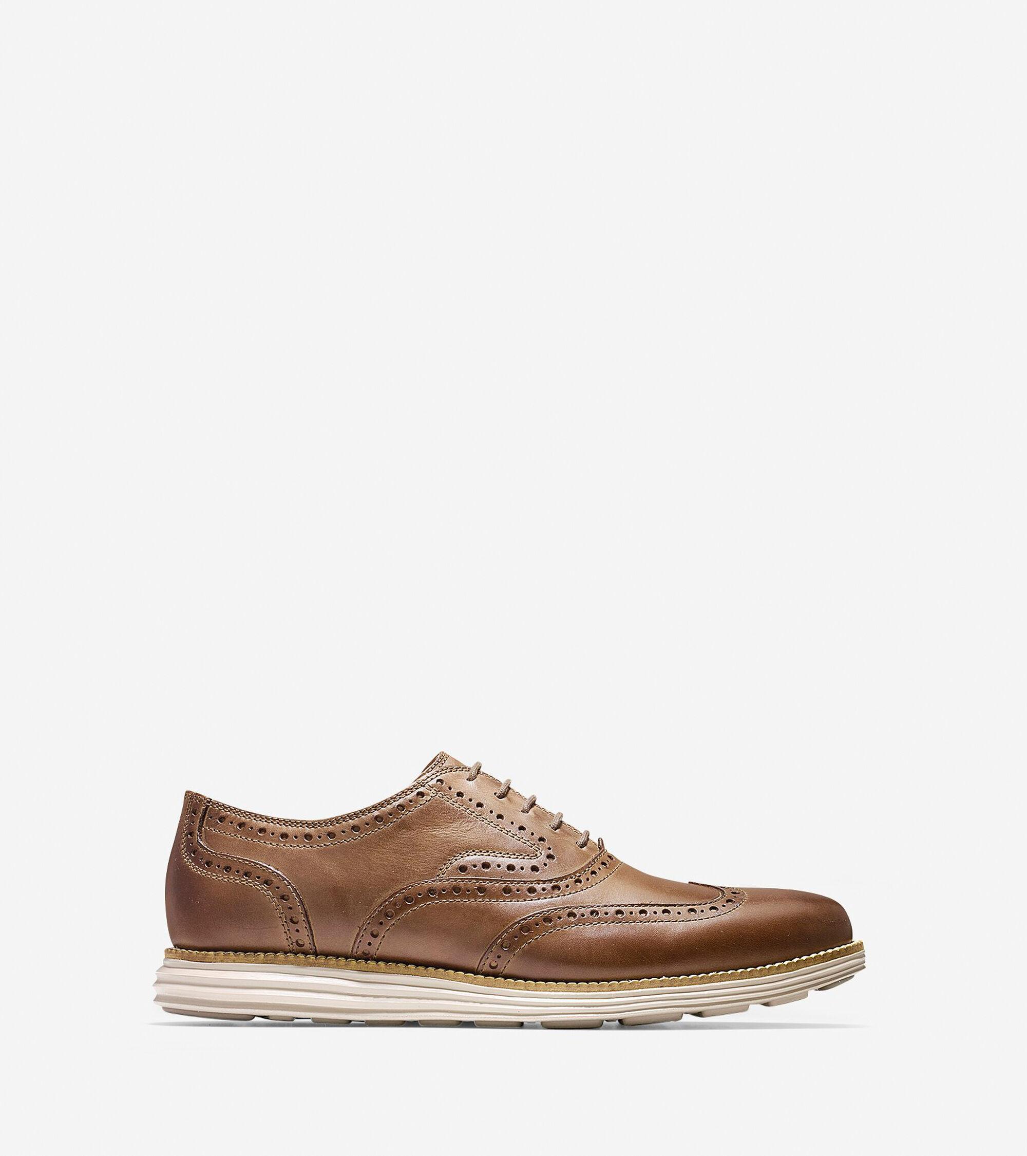 Cole Haan Men's OriginalGrand Short Wingtip Oxford Shoes