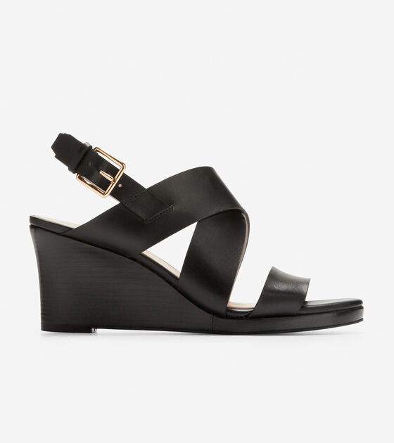 Penelope Wedge Sandal (70mm) by Cole Haan