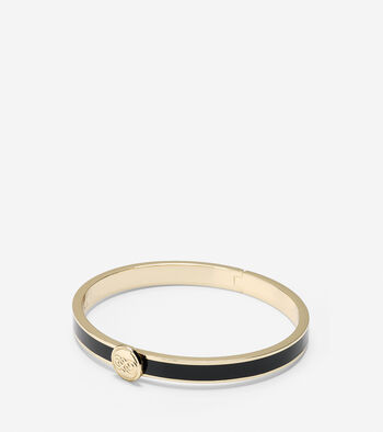 Logo Hinge Bangle