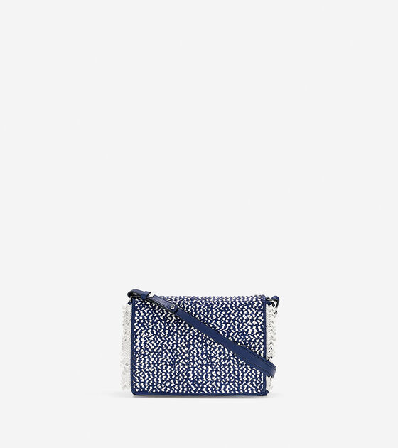 Handbags > Ziva Weave Shoulder Bag