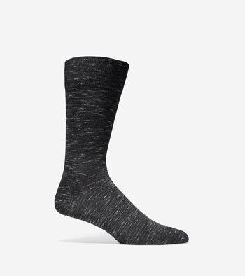 Cotton Flat Twist Knit Socks