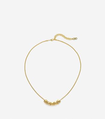 Signature Rondelle Necklace