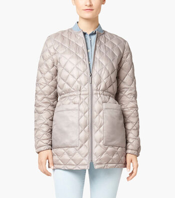 Diamond Quilt Parka