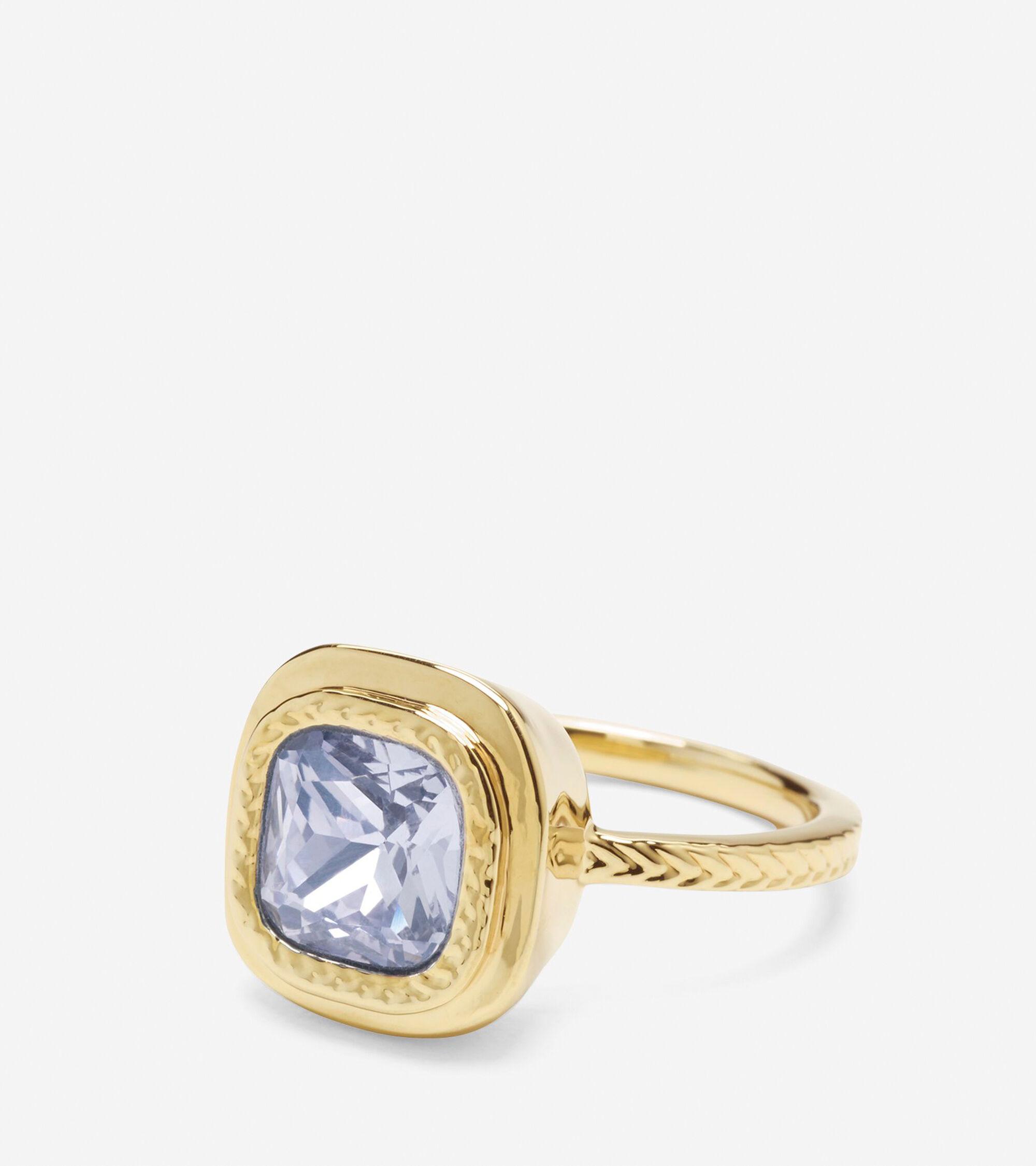 Accessories > Cushion Cut Swarovski Ring