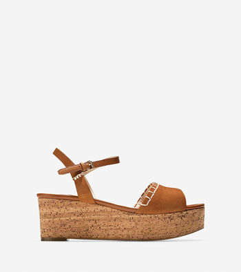 Steffi Wedge Sandal (60mm)