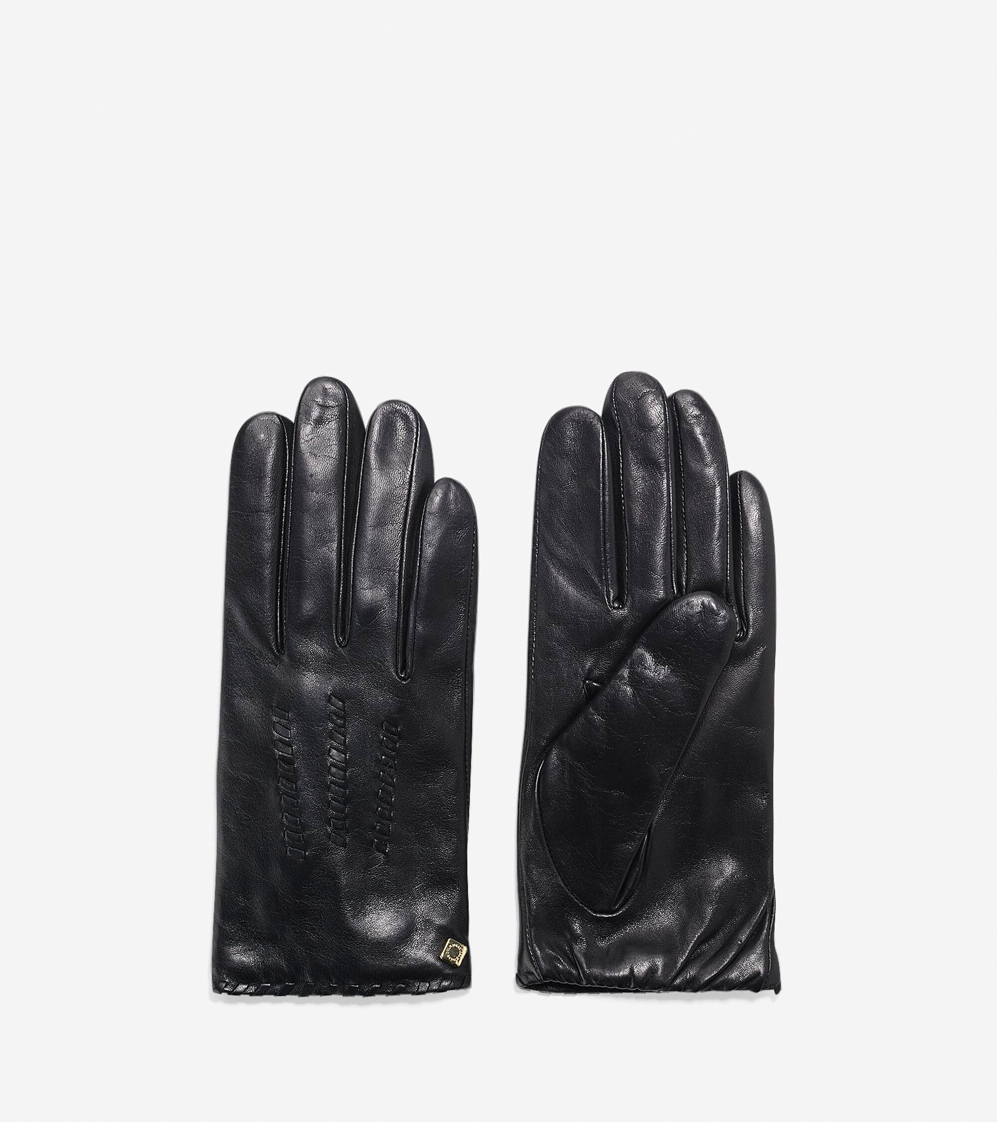 Cole haan black leather gloves - Lambskin Gloves Lambskin Gloves Colehaan