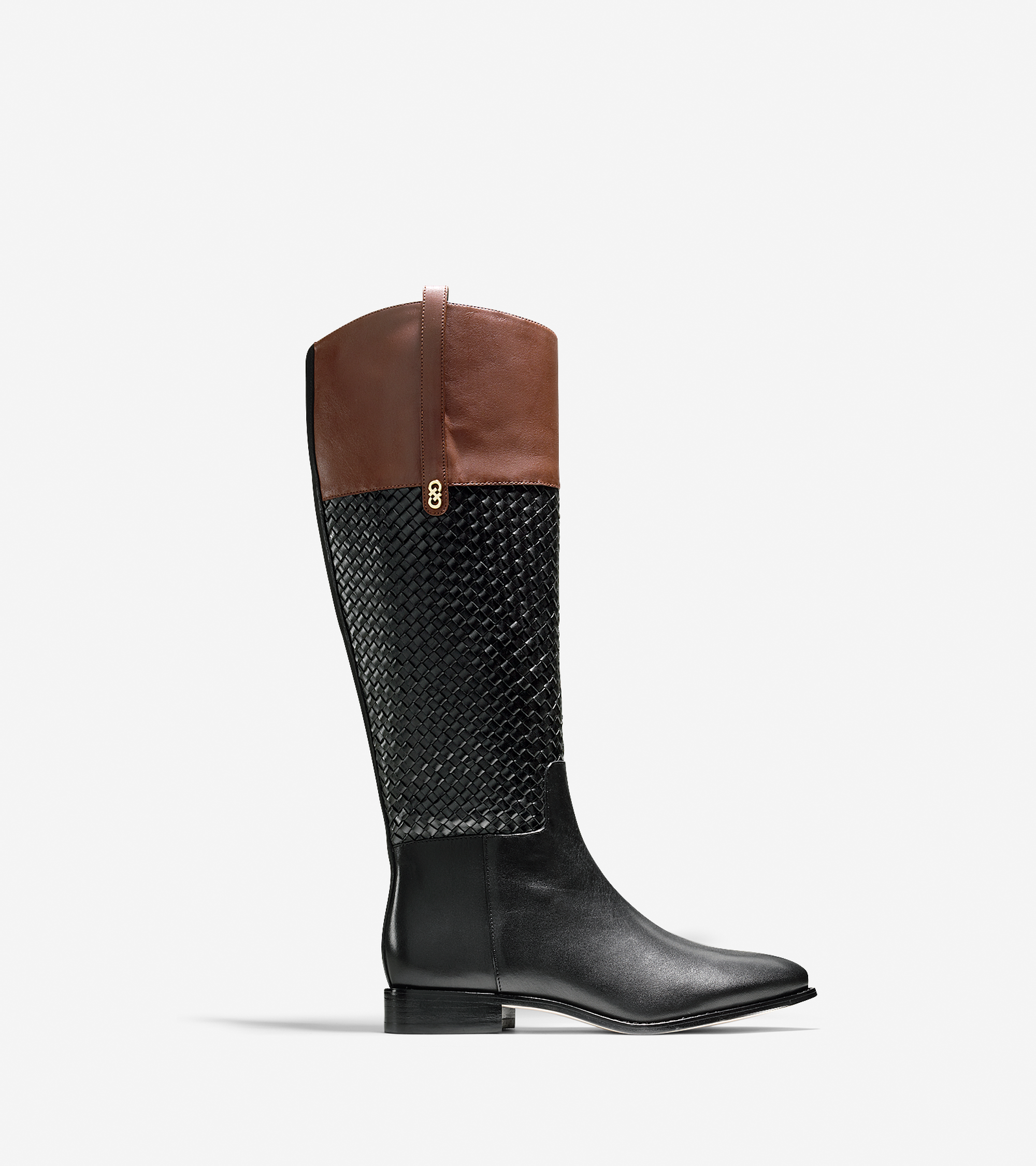 Shoes > Brennan Weave Riding Boot