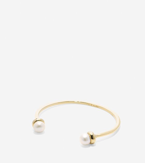 Bags & Outerwear > Tali Pearl Fresh Water Pearl Open Cuff