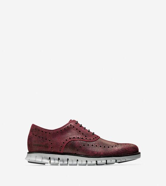 Shoes > Men's ZERØGRAND Wingtip Oxford