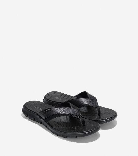 Men's ZERØGRAND Fold Thong Sandal
