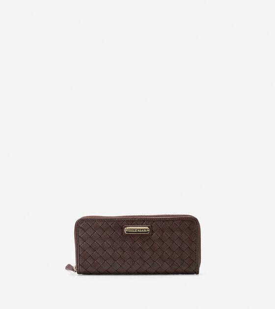 Wallets > Junia Continental Zip Wallet