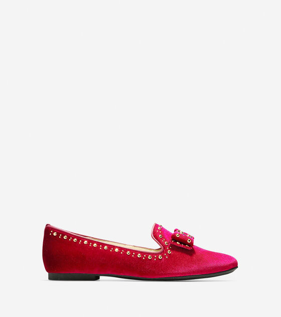 Loafers & Drivers > Tali Bow Stud Loafer