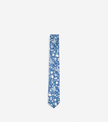 Tide Pool Floral Tie