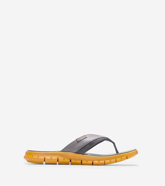 Shoes > Men's ZERØGRAND Fold Thong Sandal