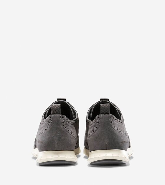 ZERØGRAND Waterproof Deconstructed Wingtip Oxford