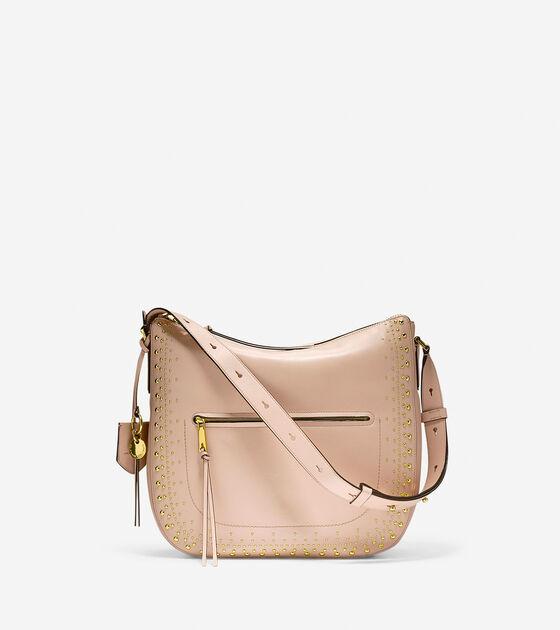 Bags & Outerwear > Marli Studded Bucket Hobo