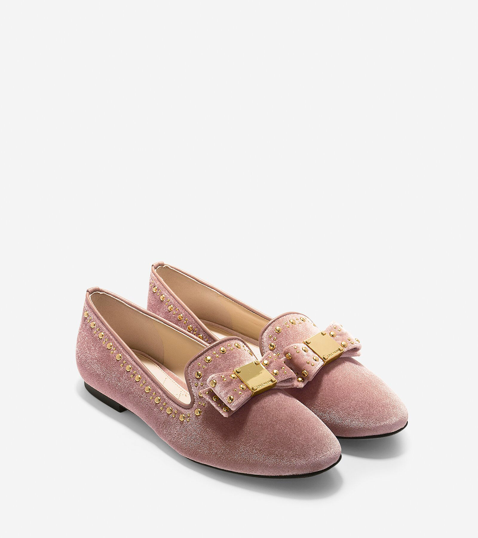 Cole Haan Women's Tali Bow Studded Loafers zTMIM