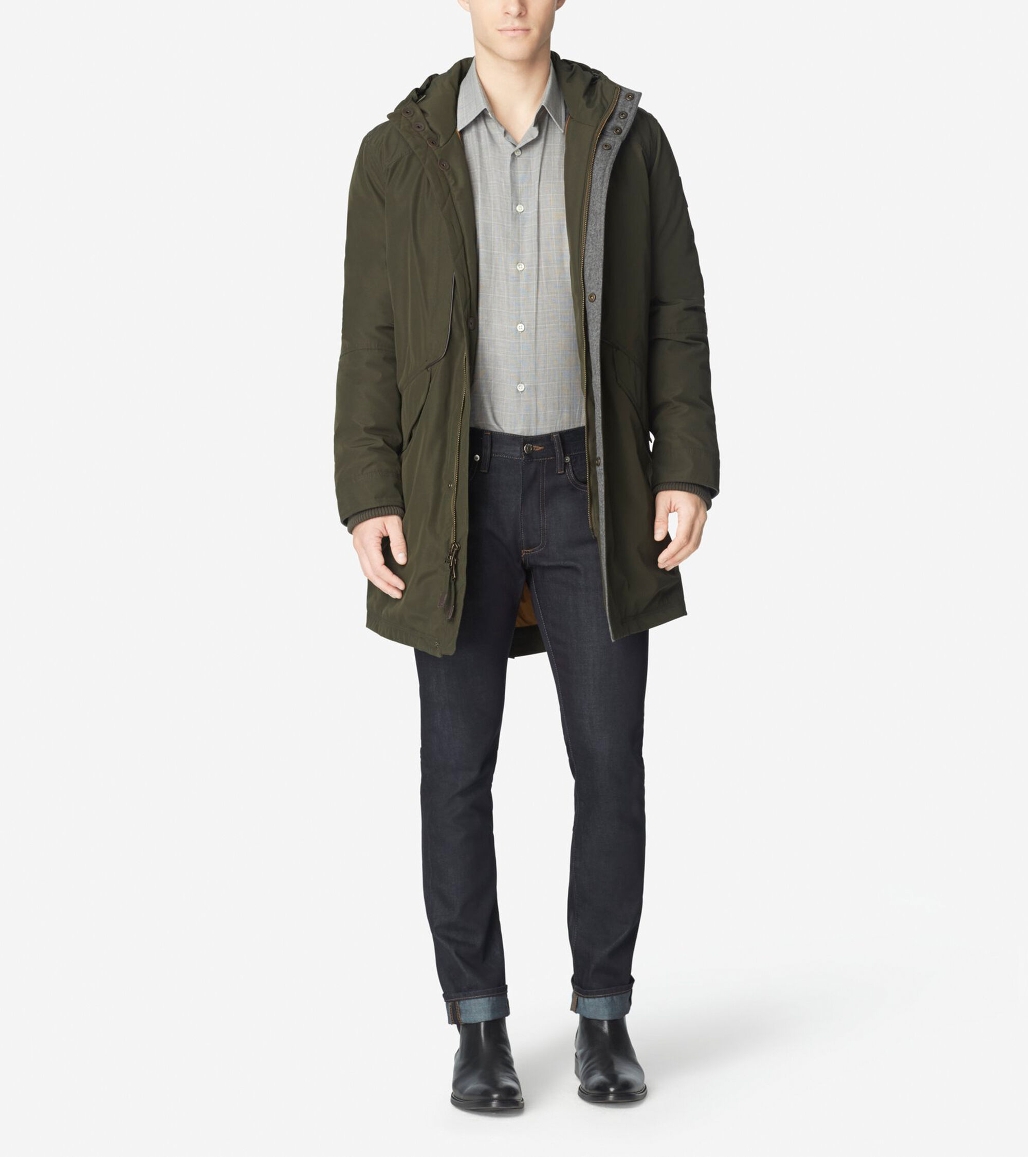 Outerwear > Down Military Parka