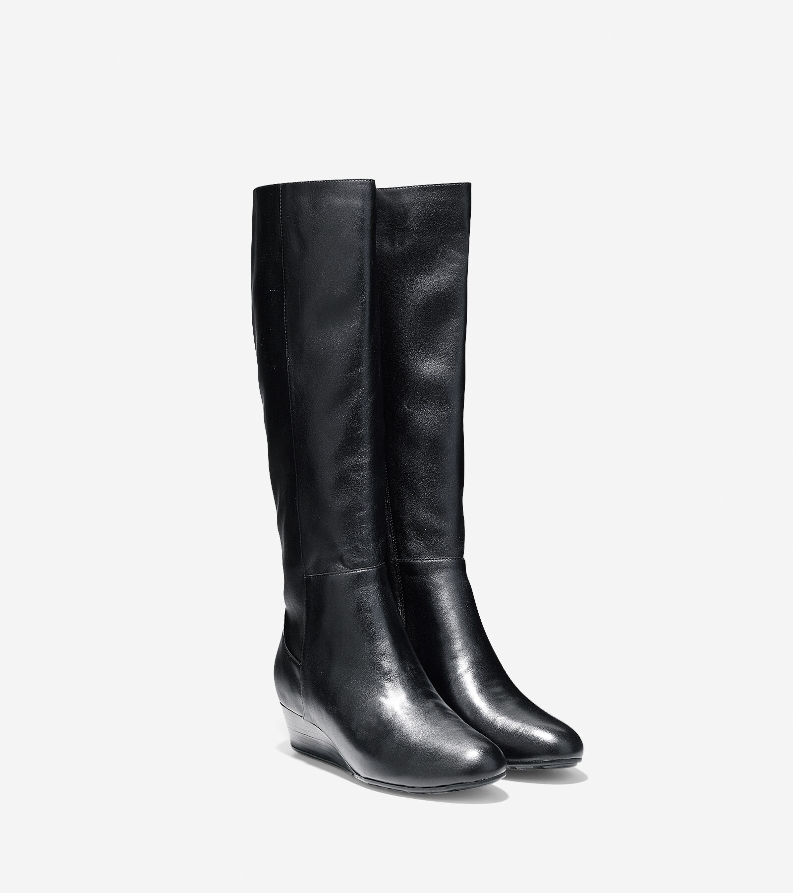 Womens Boots Cole Haan Tali Grand Tall Boot 40 Extended Calf Black