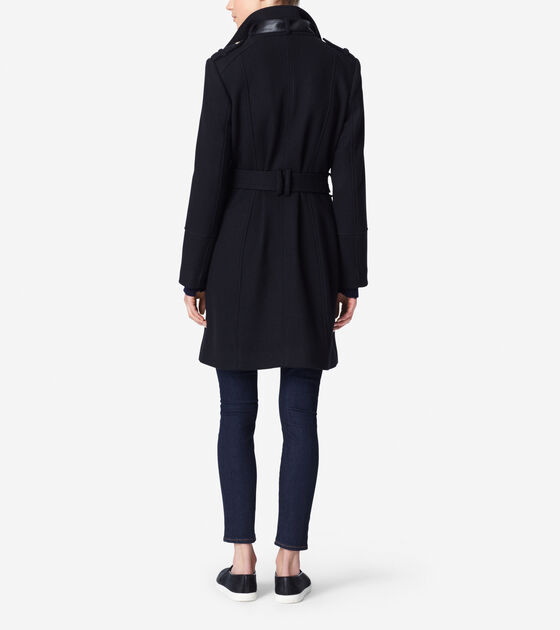 New Wool Twill Coat