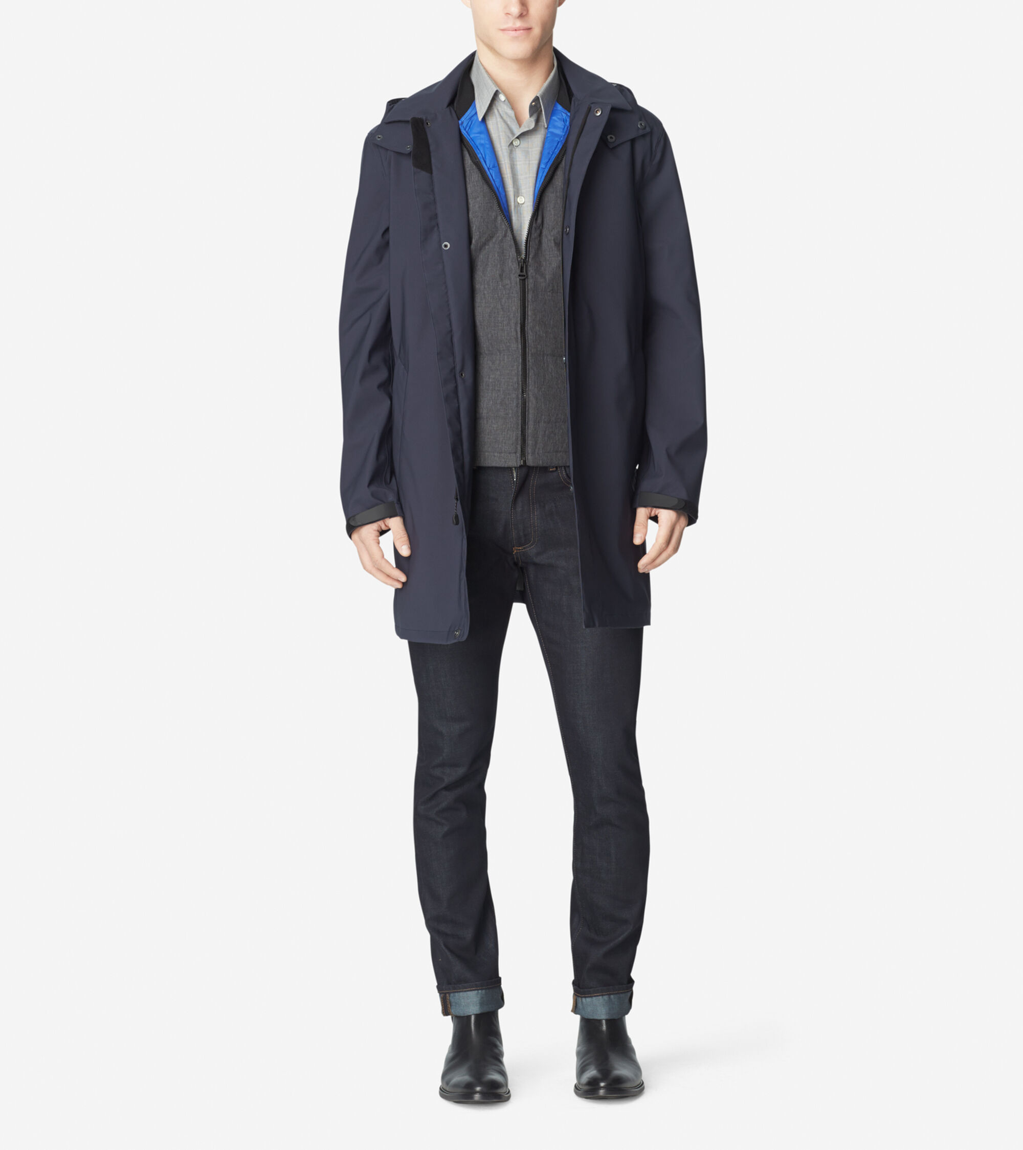 Outerwear > 3-in-1 Waterproof Soft Shell Topper