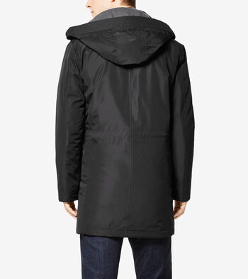 Signature City Oxford Nylon Topper With Removable Hood