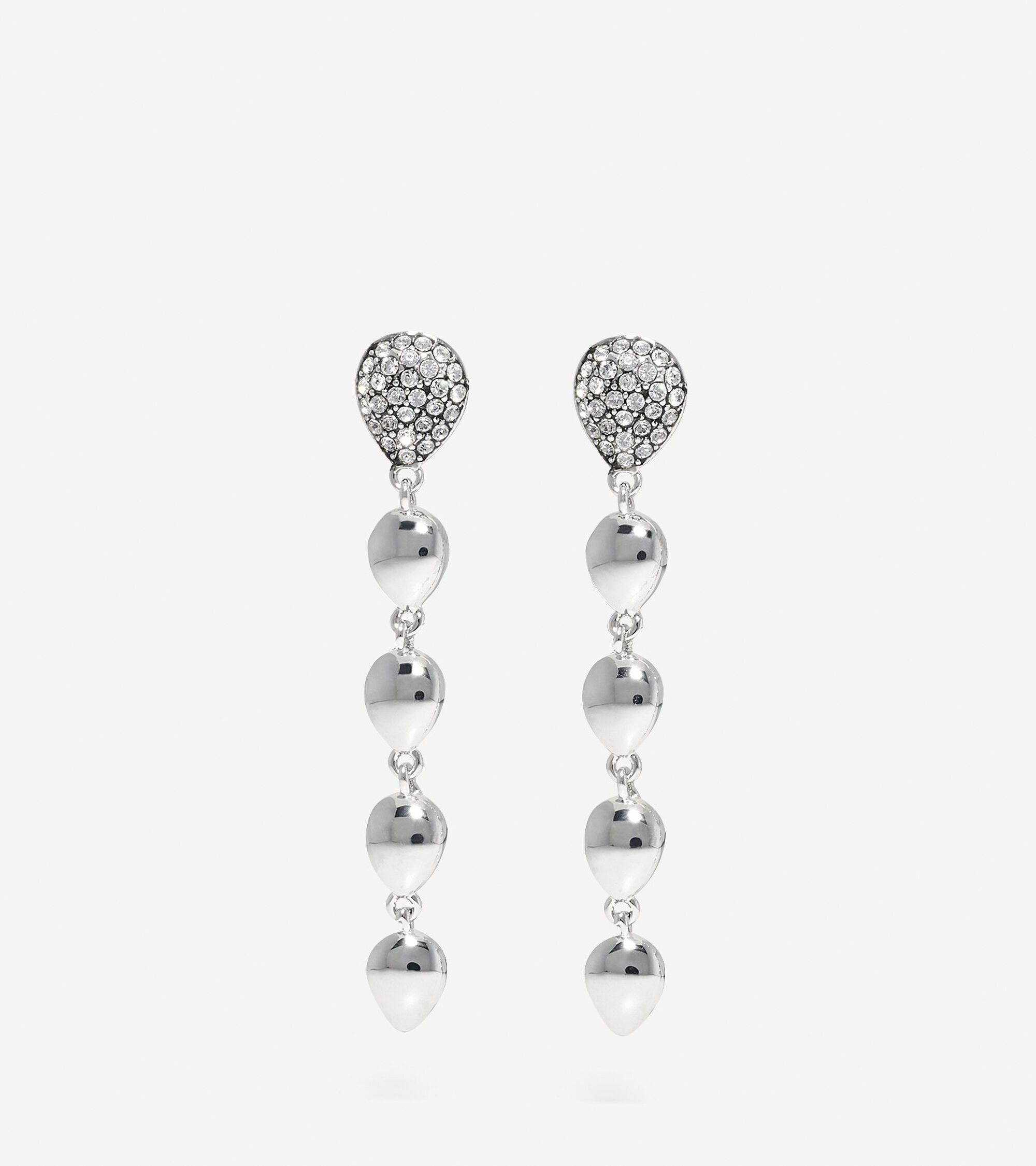 Jewelry > Waters Edge Swarovski Teardrop Drop Earrings