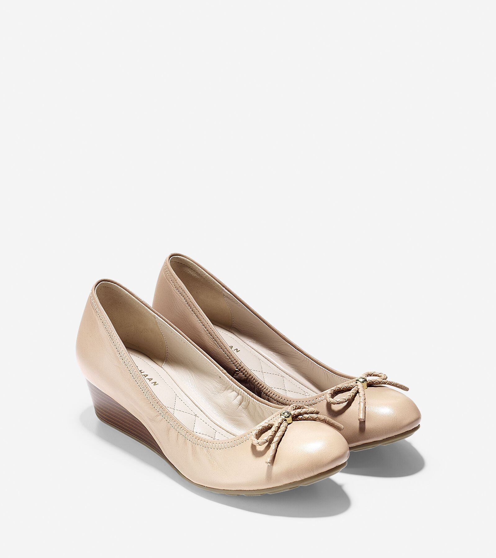 Cole Haan Tali Grand Lace Wedges YWSJPo
