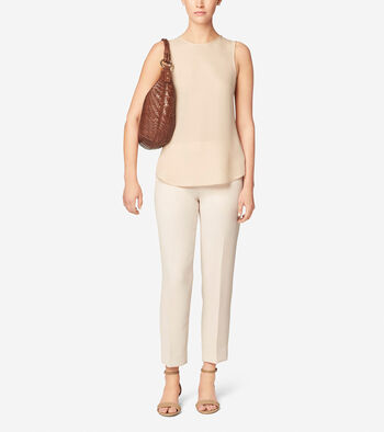 Genevieve Top Zip Hobo