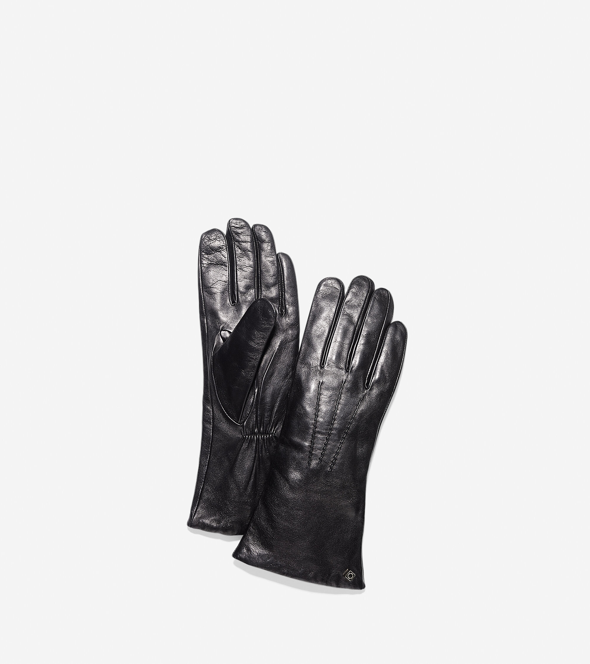 Cole haan black leather gloves - Long Lambskin Leather Gloves Long Lambskin Leather Gloves Colehaan