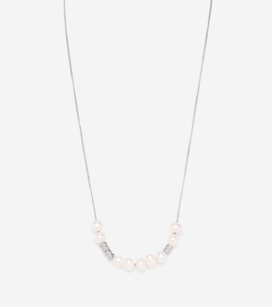 Front Pearl Necklace