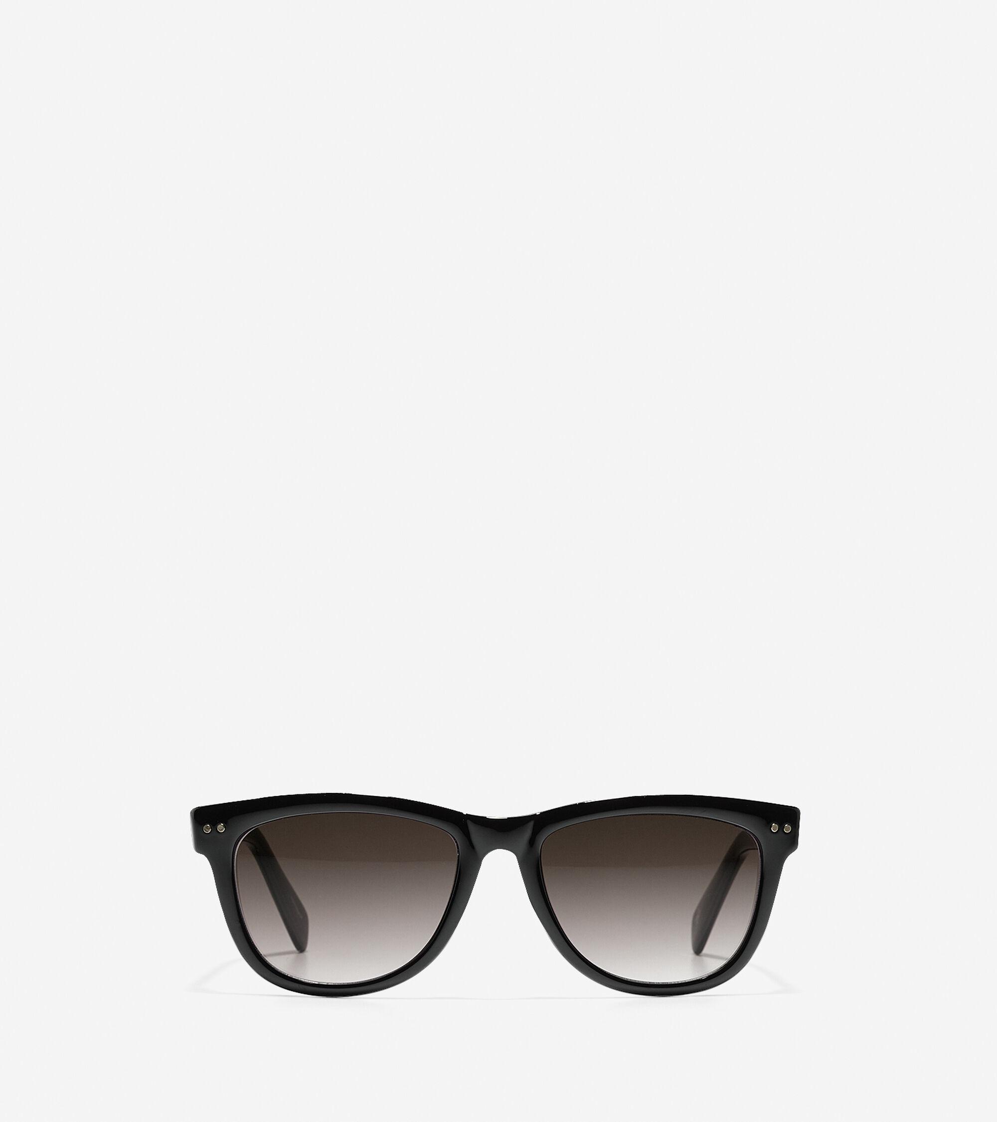 Accessories > Acetate Tapered Square Sunglasses