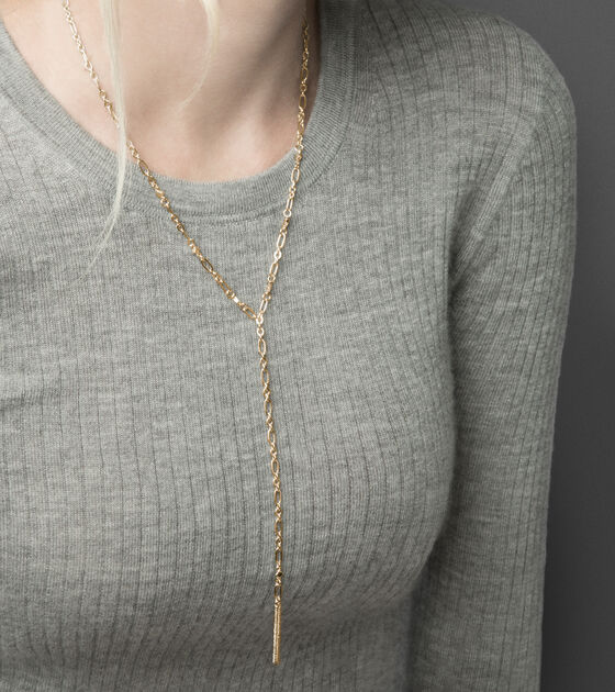 Chain Y Necklace