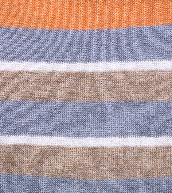 Village Stripe Low Cut Socks - 2 Pack