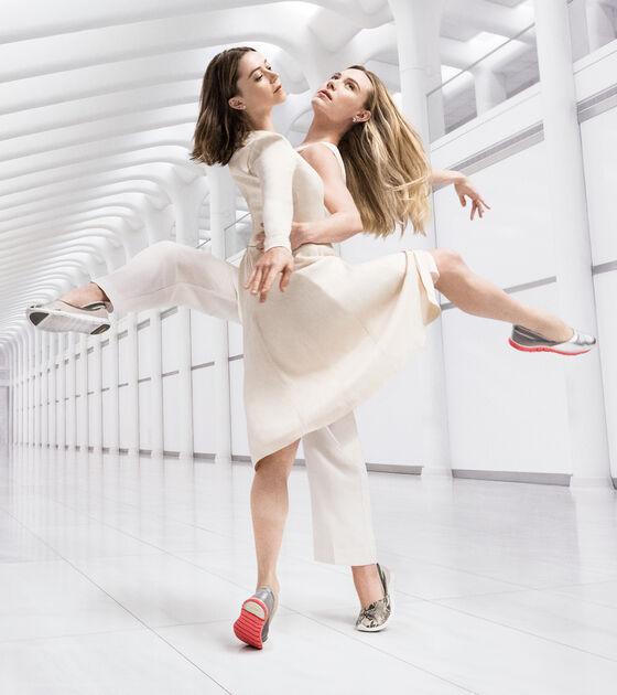 ZERØGRAND Wrap Slip On Ballet