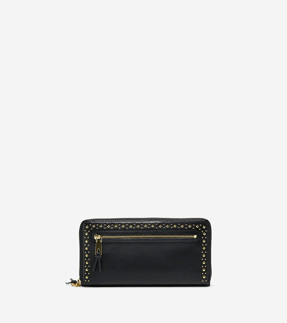 Bags & Outerwear > Marli Studded Continental Wallet