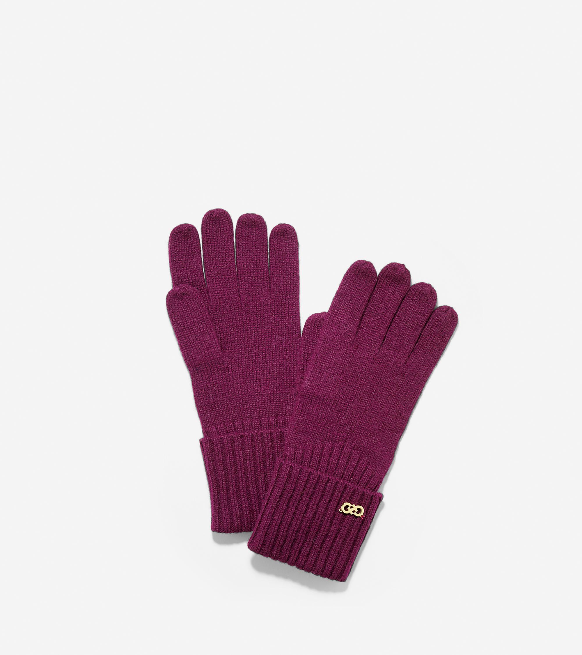 Scarves, Gloves & Hats > Diagonal Rib Gloves