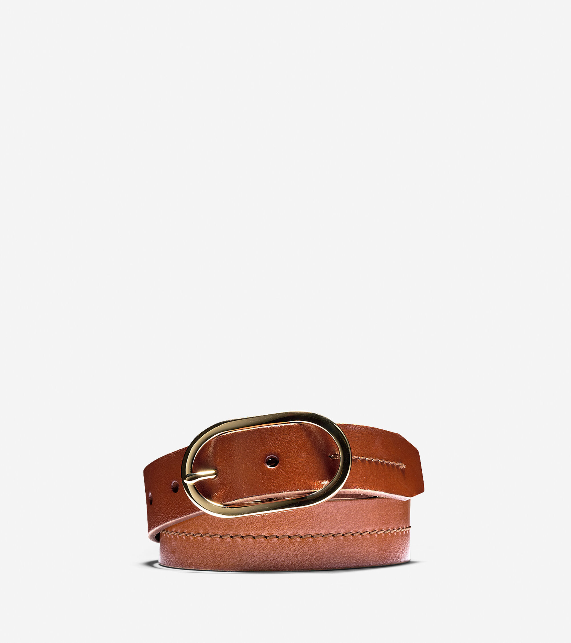 Accessories > Leather Circle Buckle Belt