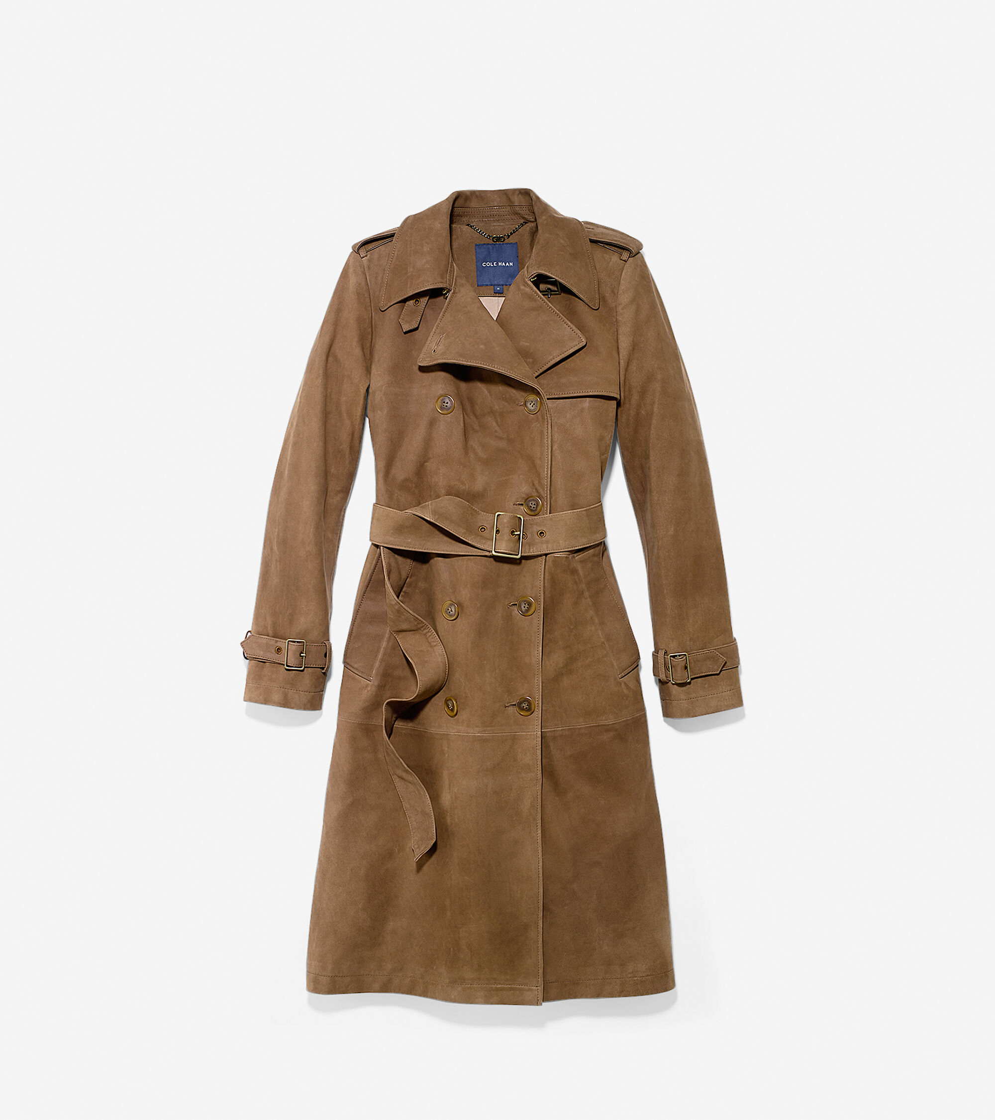 Outerwear > Nubuck Trench