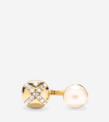 Set the Ball in Motion Fresh Water Pearl Ring