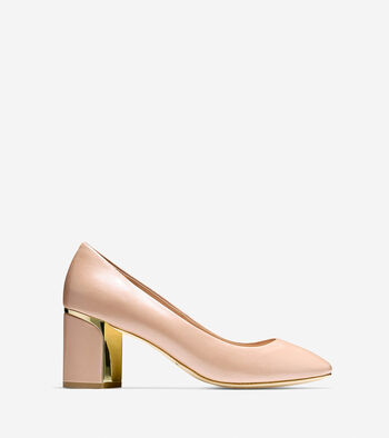 Collection Block Heel Pump (65mm)