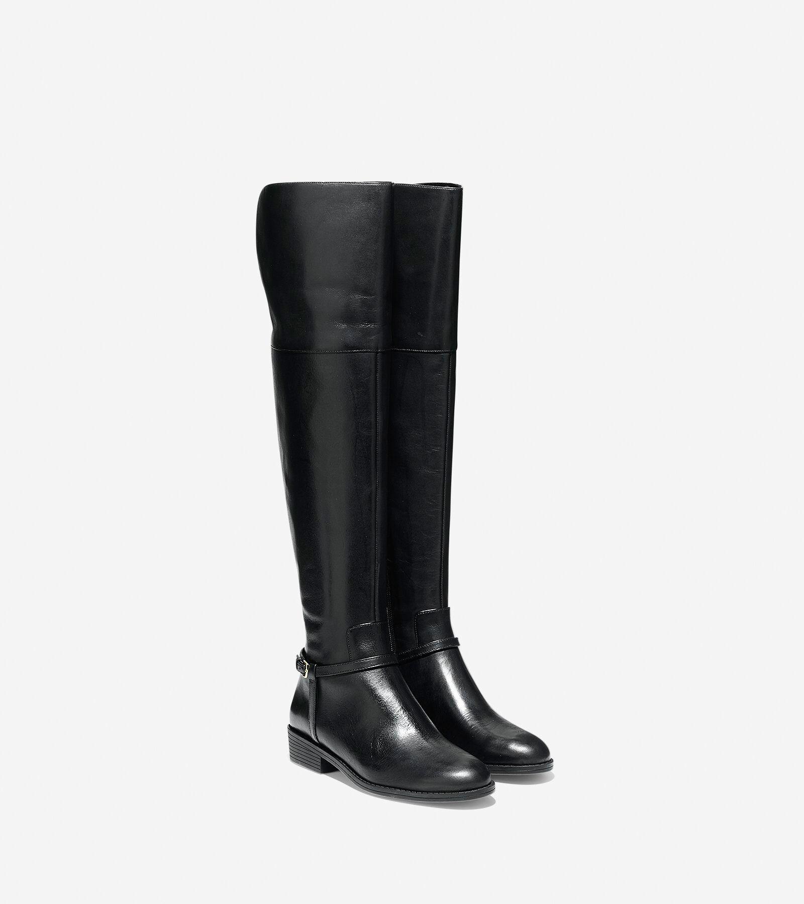Cole Haan Women's Valentia Leather Over-the-Knee Boots 4BHvRN4W